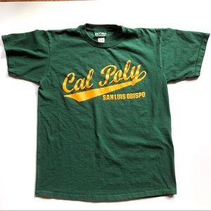 Vtg Cal Poly San Luis Obispo T Shirt Made USA Sz M